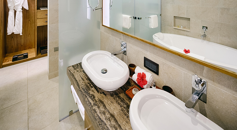 Salle de bain Savoy hotel