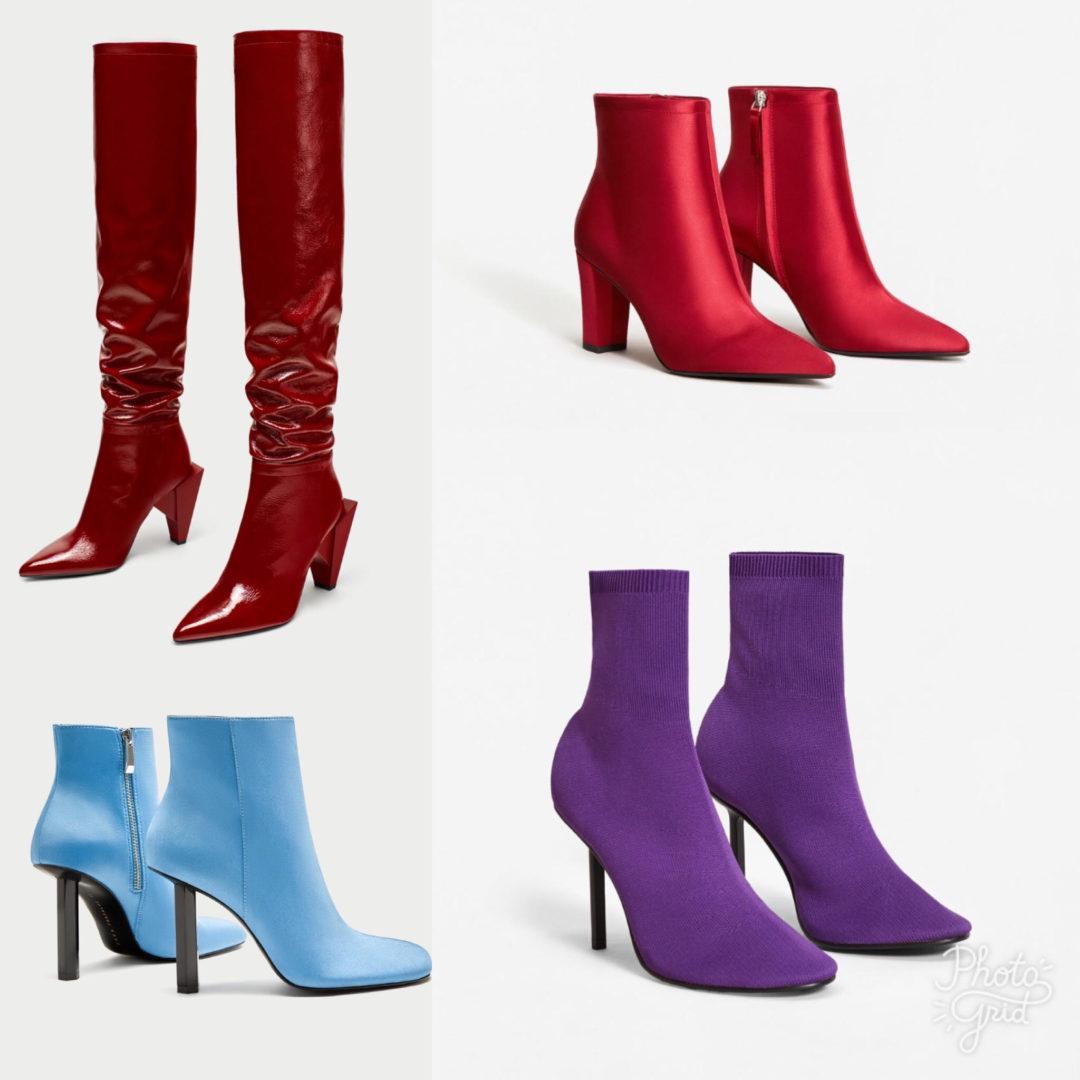 bottines et bottes de la saison