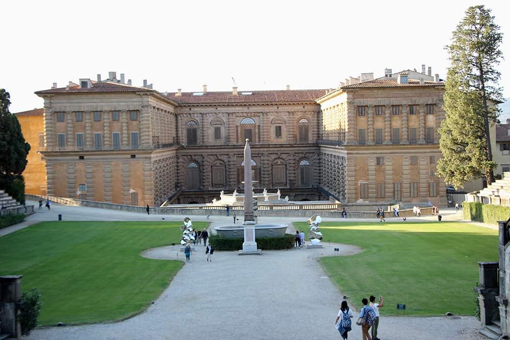 jardins palazzio pitti