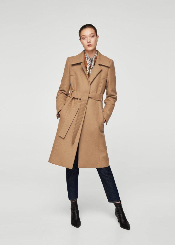 Manteau mango hiver 2017