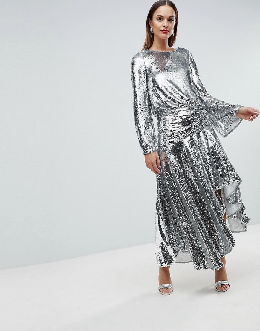 belle robe à sequins pour le nouvel an