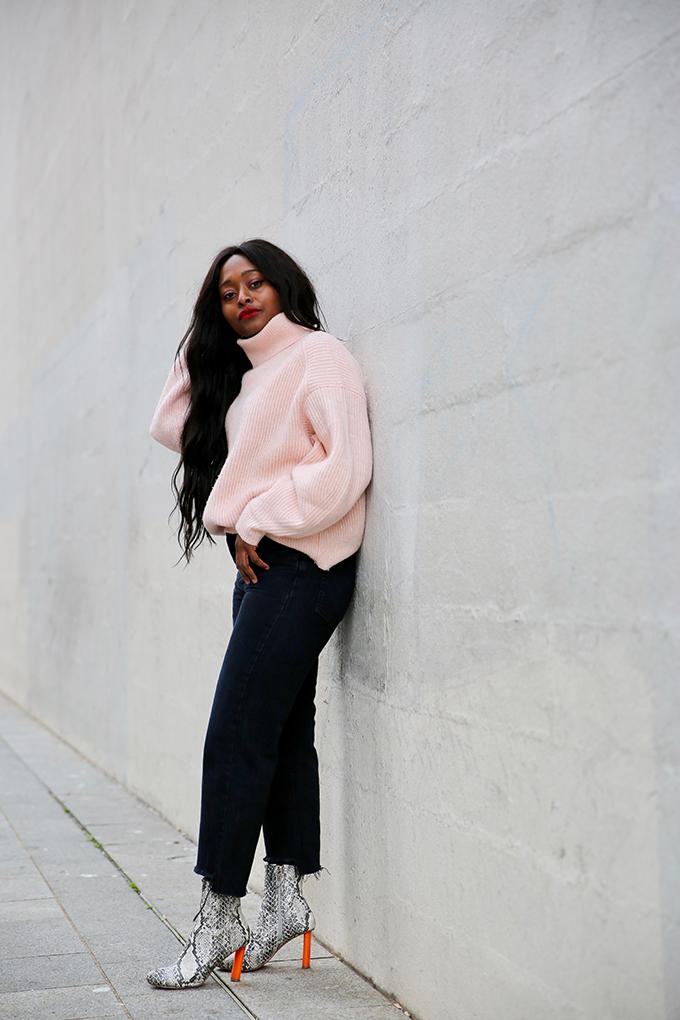 blogueuse en doudoune