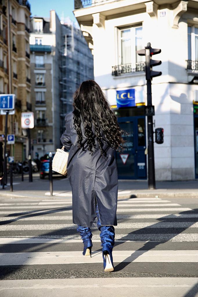 look manteau oversize blogueuse