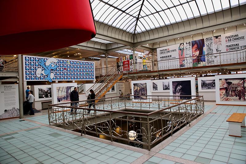 musée de la bande dessinée Bruxelles
