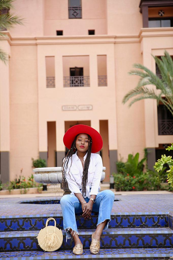 blogueuse à marrakech