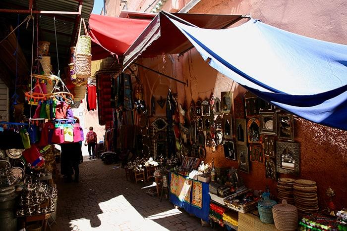 quoi voir dans le souk a marrakech