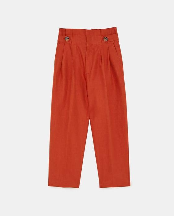 Pantalon zara été 2018