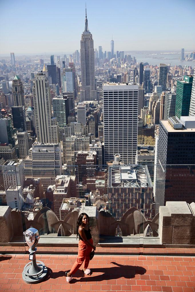 TOP OF ROCK rooftop New York