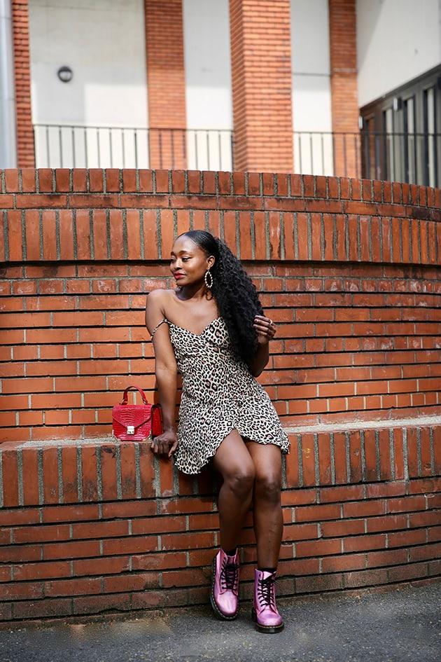 comment porter la robe panthère