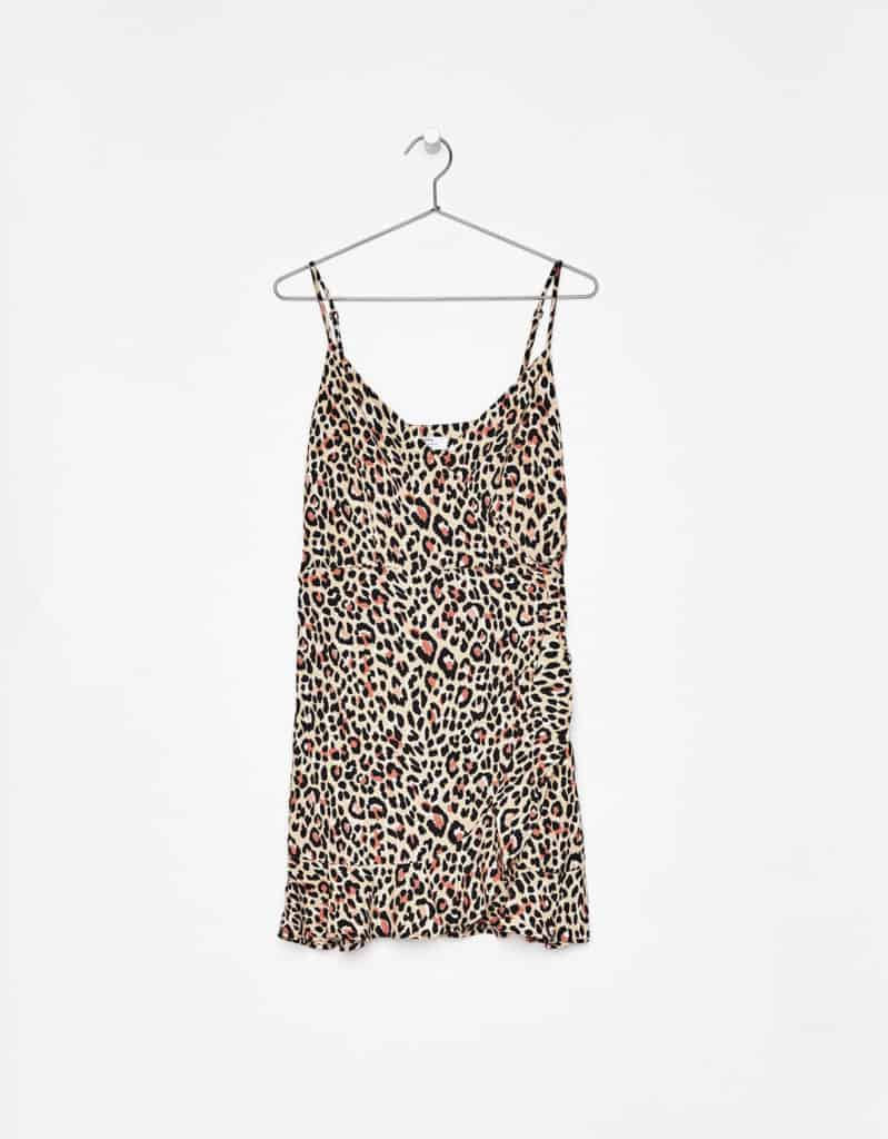 porter la robe leopard