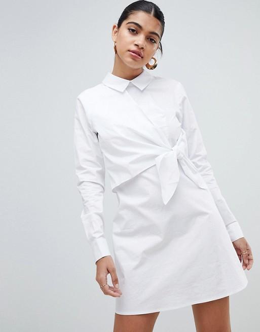 Chemise blanche avec col