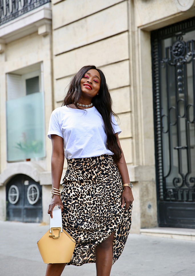 blog mode jupe chic imprimée léopard