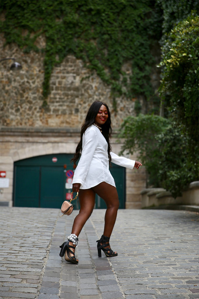 blog mode chic en chemise croisée