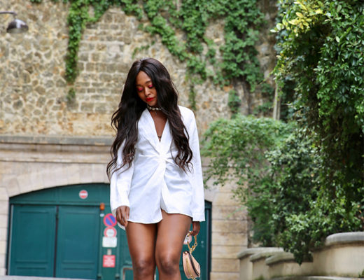 blog mode femme look avec chemise courte
