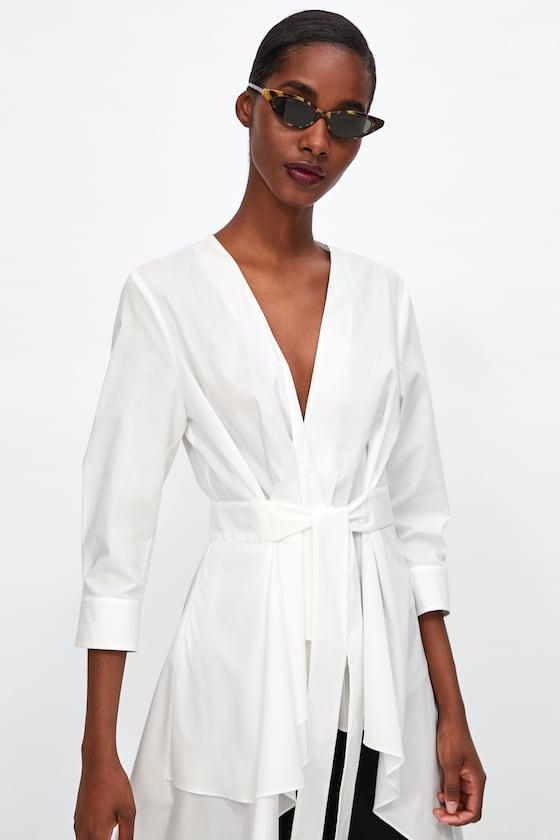 robe-chemise-Blanche