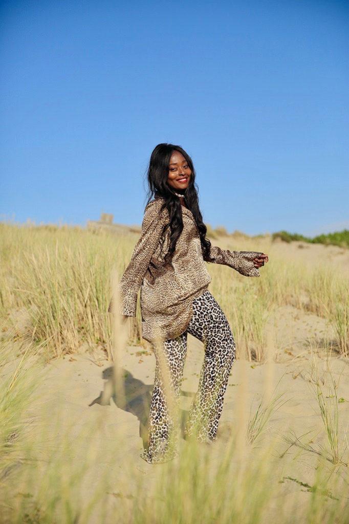 Blog mode chemise petits motifs léopard