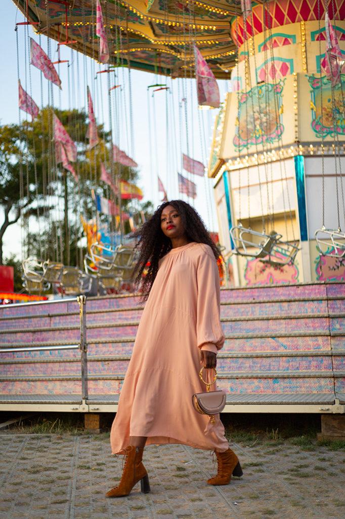 Blog mode robe longue fluide