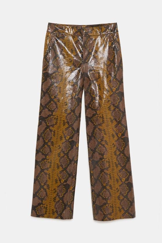 idées Pantalon imprimé serpent