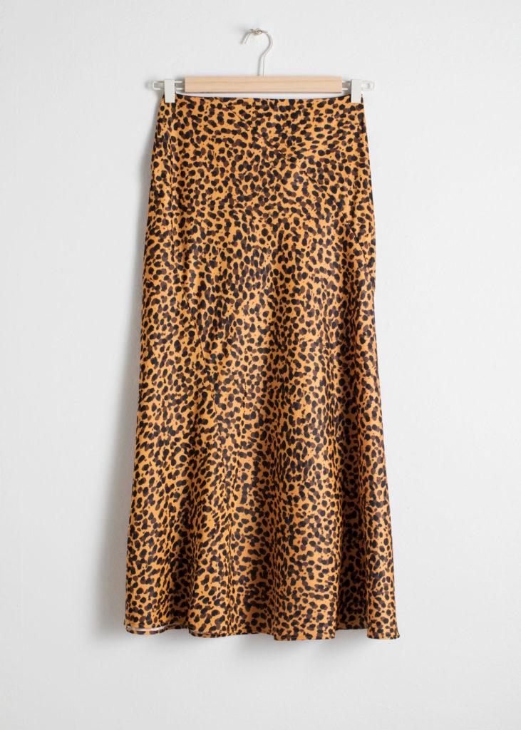 idées jupe leopard