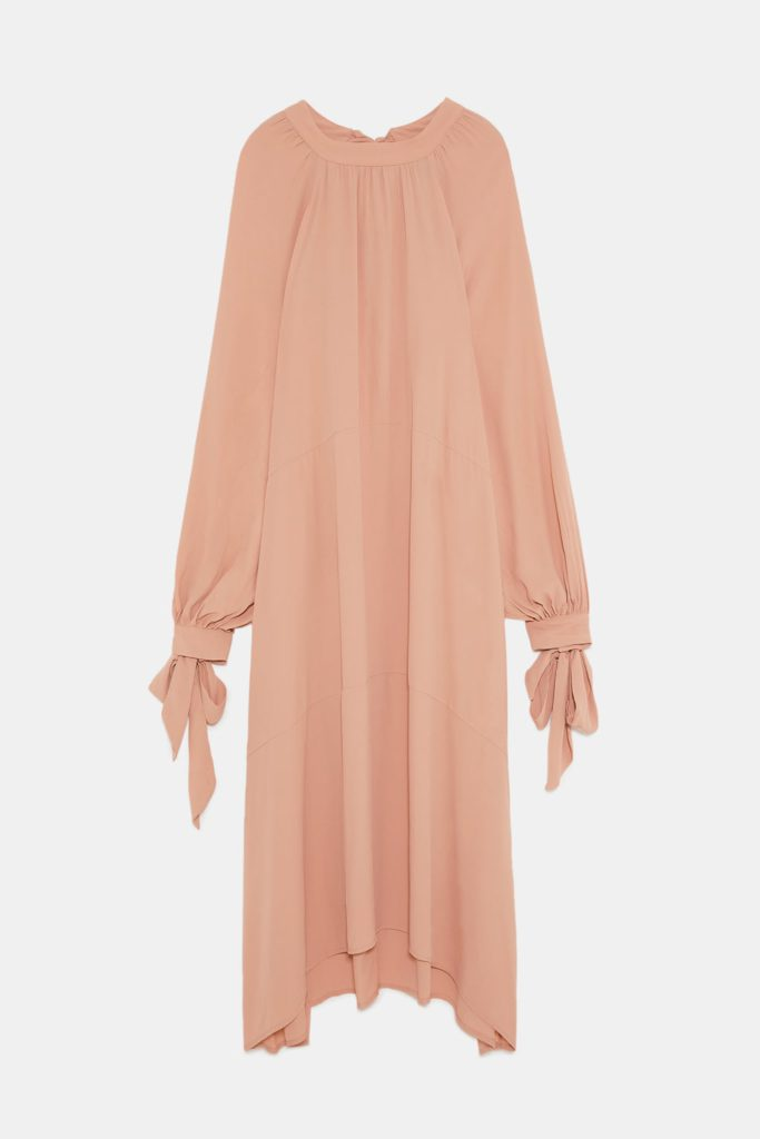 Robe longue stylée