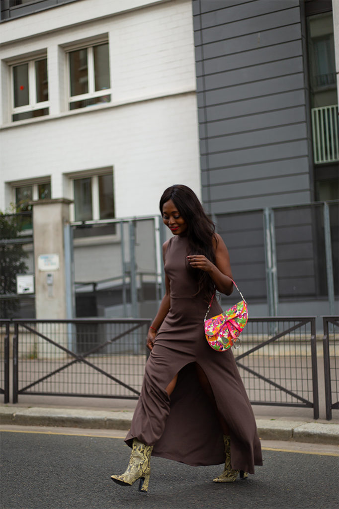 blogueuse looks robe chic