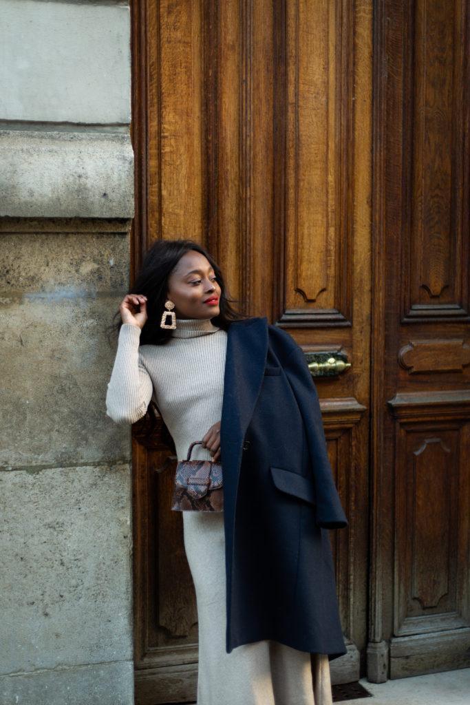 blog mode idées manteaux noires et chic