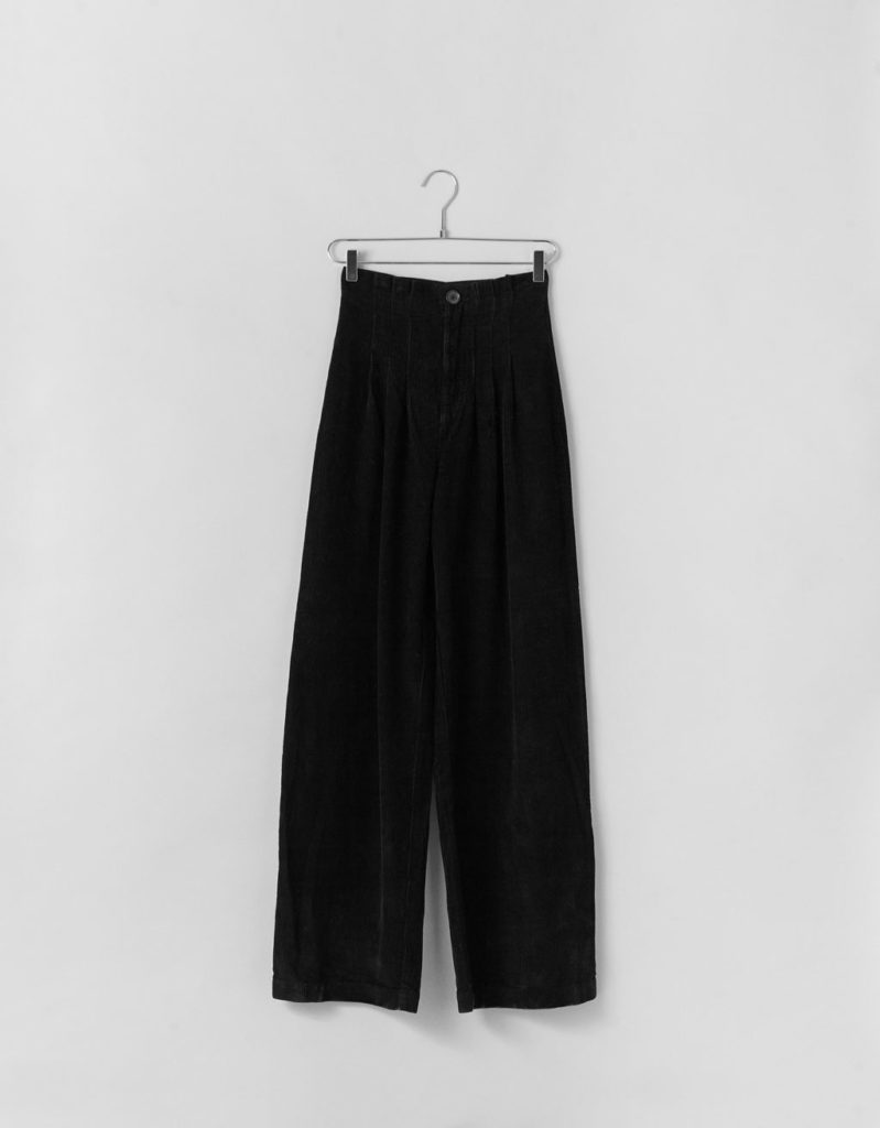 PANTALON LARGE en velours
