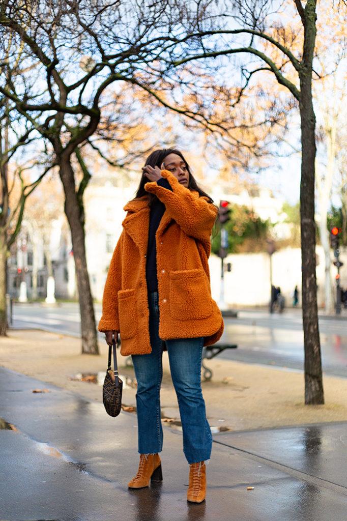 manteau doux style maxmara