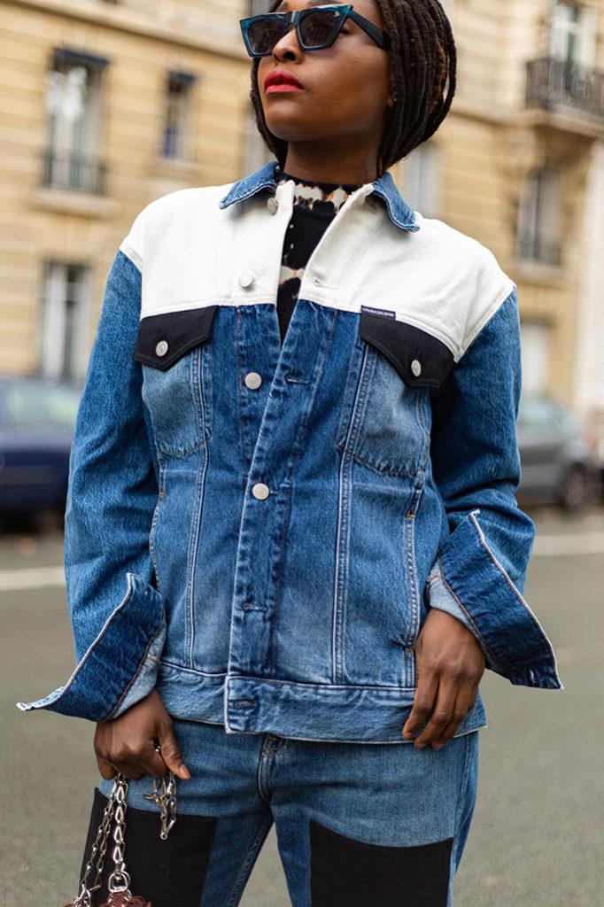 Veste en jean original calvin
