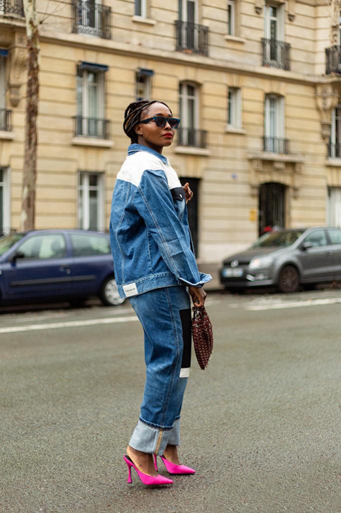 blogueuse mode idee look en jean