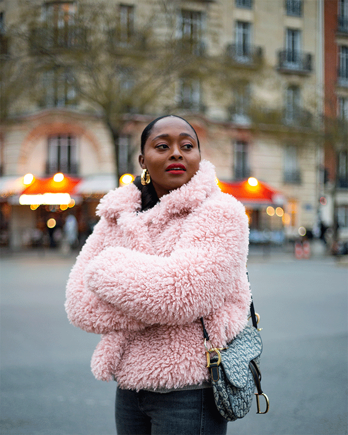 idées coiffure blogueuse noire parisienne