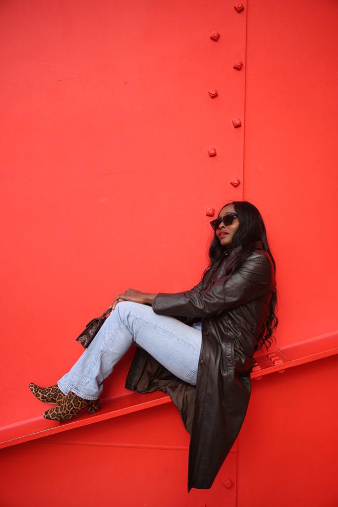 Blogueuse noire parisienne Looks