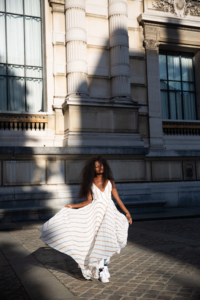 Blog mode robe longue a rauyres pour l ete